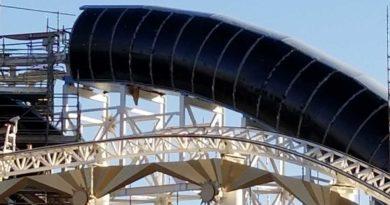 Screamin - Incredicoaster tube enclosure