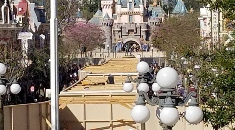 Disneyland Street Car Track Replacement Project - Featured