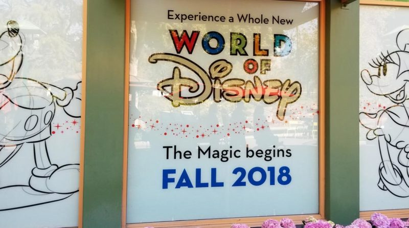 World of Disney Renovation - Featured