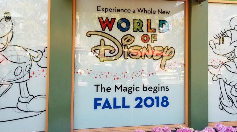 World of Disney Renovation - Featured