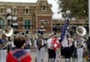Disneyland Nightly Flag Retreat in Town Square