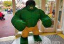 LEGO Hulk in Downtown Disney