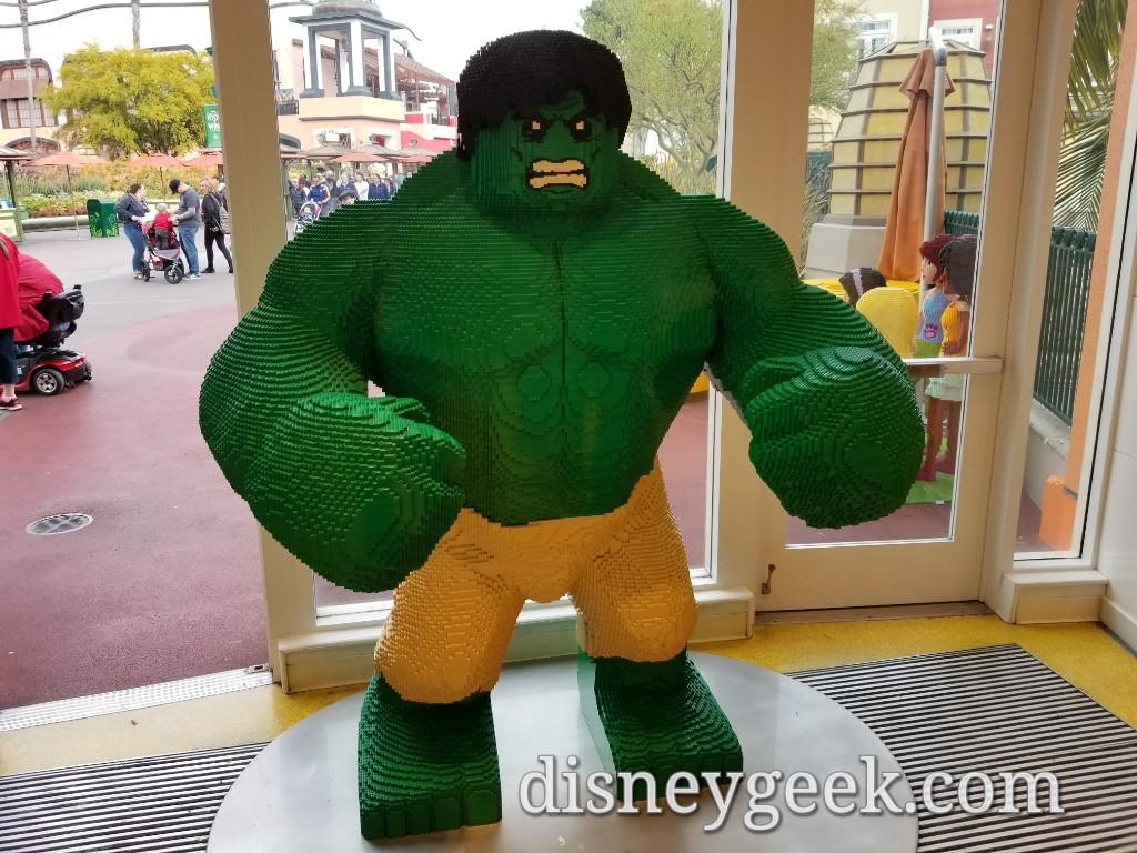 LEGO Hulk in Downtown Disney & LEGO Hulk in Downtown Disney u2013 The Geeku0027s Blog @ disneygeek.com
