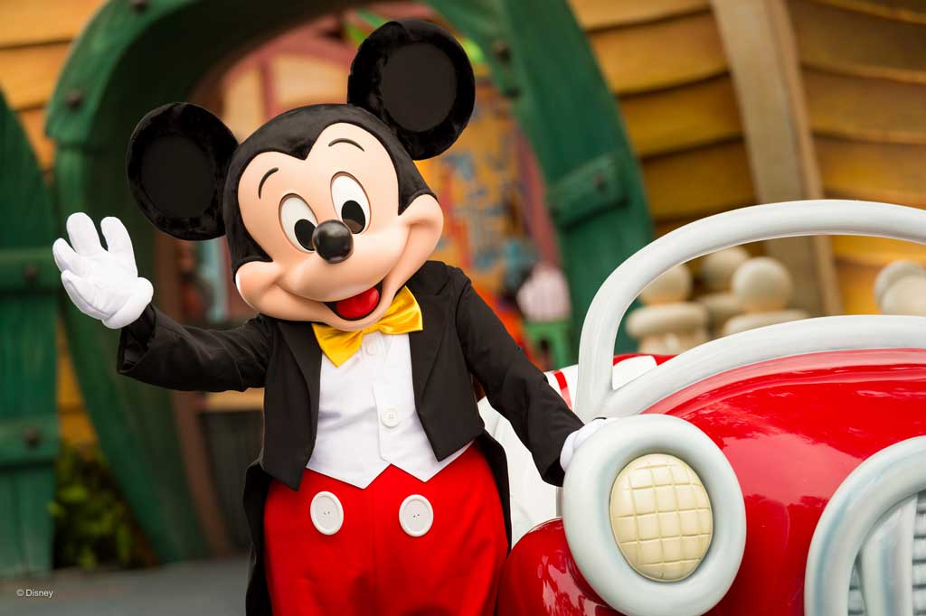 Mickey 90th Announcement