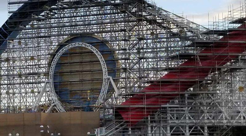 Pixar Pier Construction - Incredicoaster
