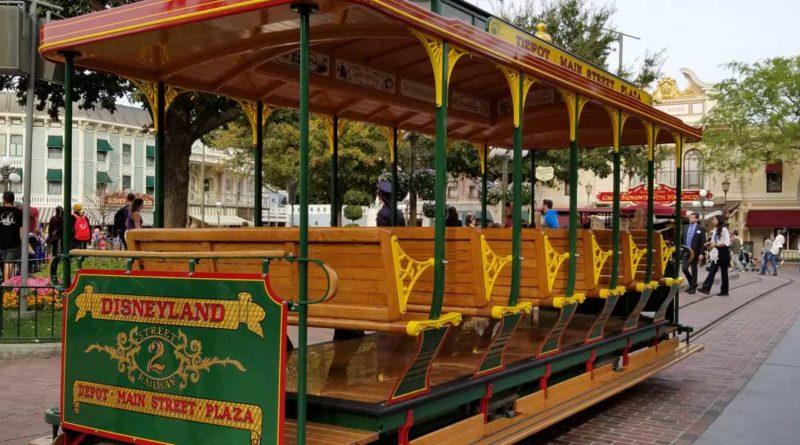 Disneyland Street Car Track Replacement