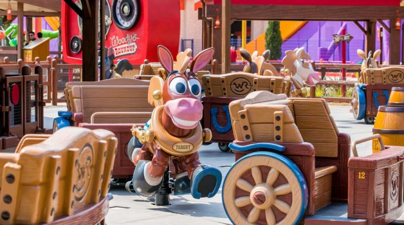 Shanghai Disneyland Toy Story Land - Woody