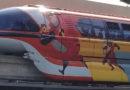 For Pixar Fest the Disneyland Resort Monorail Fleet feature new Wraps