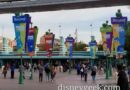Pixar Fest Banners in the Esplanade (Several Pictures)