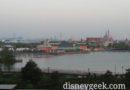 My Hotel Room View of Shanghai Disneyland this morning
