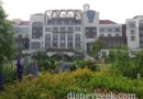 Walking around the Shanghai Disneyland Hotel before breakfast