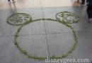 A not so hidden Mickey on the parade route in Shanghai Disneyland