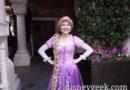 Rapunzel Greeting Guests in Fantasyland