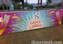 Tokyo Disneyland 35th Anniversary Banners at Bayside Station