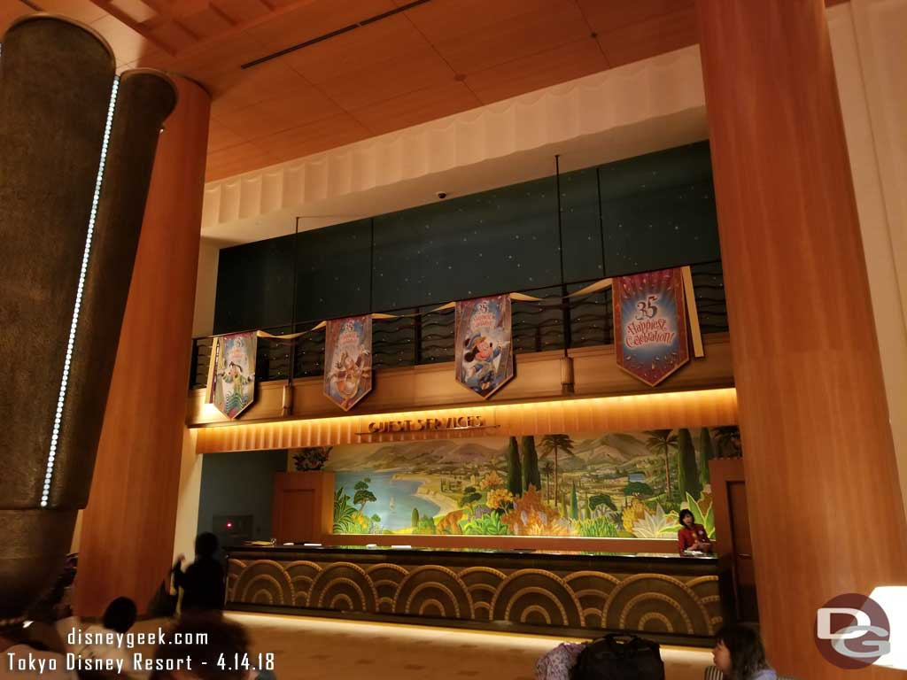 Disney Ambassador Hotel Tokyo Disneyland 35th Anniversary