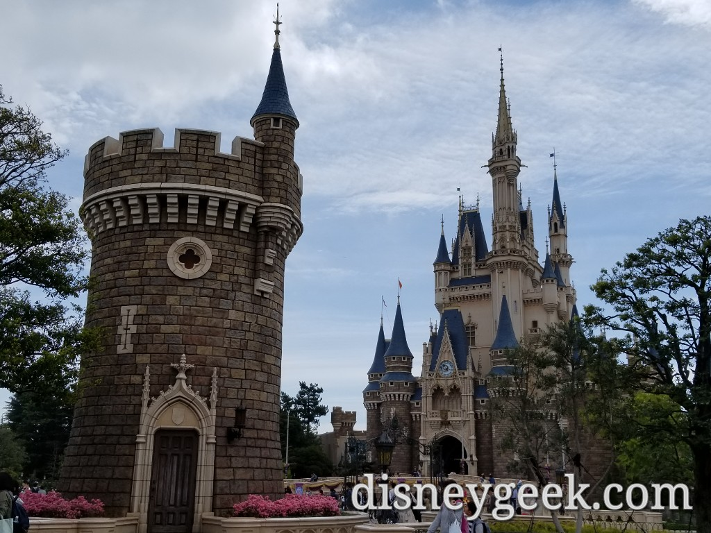 Tokyo Disneyland Cinderella Castle Partners 35th Anniversary