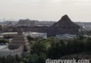 Tokyo DisneySea from our room this morning