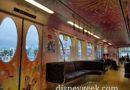 35th Anniversary Tokyo Disney Resort Liner – Interior Pictures