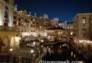 Tokyo DisneySea – Mediterranean Harbor Venice Area Afterdark
