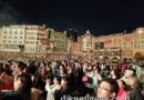 Tokyo DisneySea – Fantasmic Crowd this evening