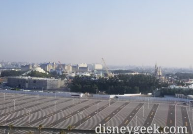 Last morning waking up to this view of Tokyo Disneyland