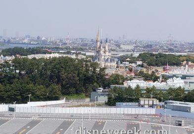 Final Balcony pictures of Tokyo Disney Resort