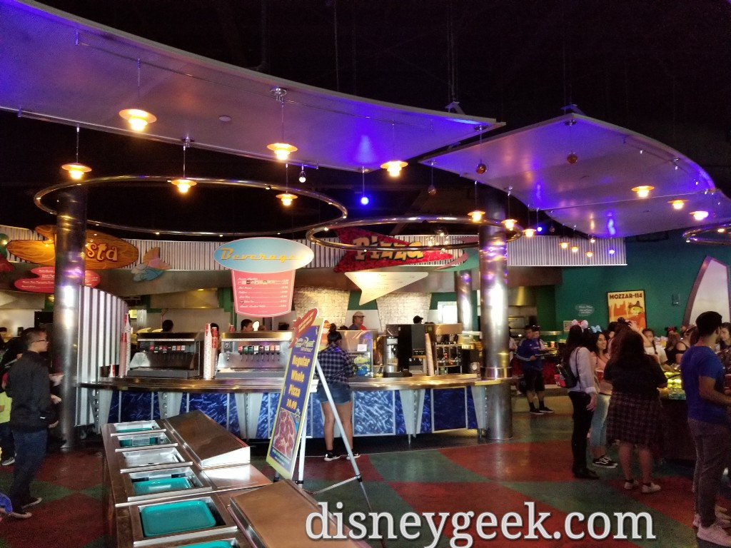 Pizza Planet In Tomorrowland At Disneyland Several