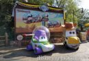 Toy Car Story Cars & New Movie Posters in Cars Land for PixarFest