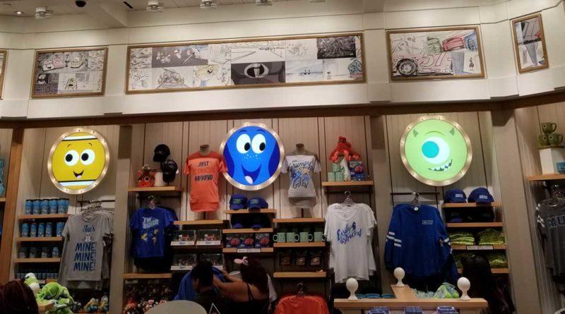 Knick's Knacks on Pixar Pier