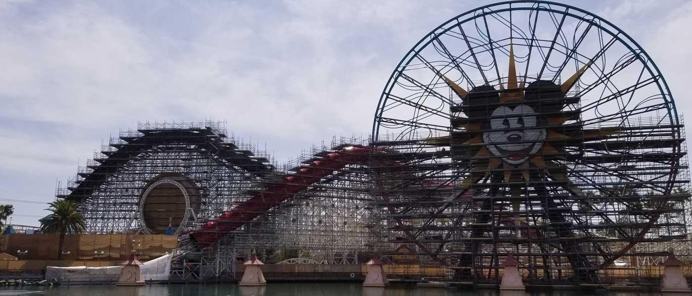 Paradise Pier Transformation to Pixar Pier Pictures (4/6)