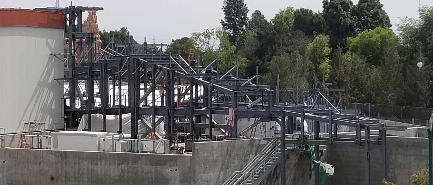 Disneyland Star Wars: Galaxy's Edge Construction Pictures (4/6)