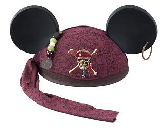 Pirate Ear Hat 2,000 yen