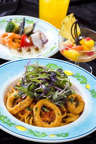 Special Set 1,880 yen at Cafe Portofino