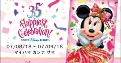 Ex clusive 35th Anniversary Design Room Key for rooms in the Concierge and Suite categories (design for July 8 through January 10)