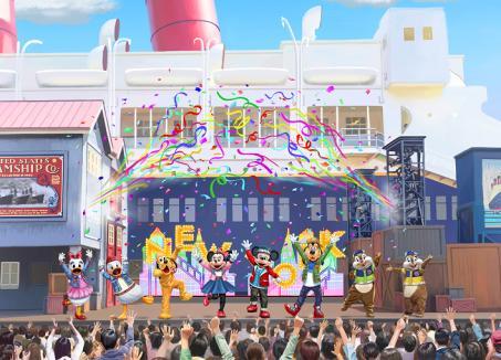 """Hello, New York!"" at Tokyo DisneySea"