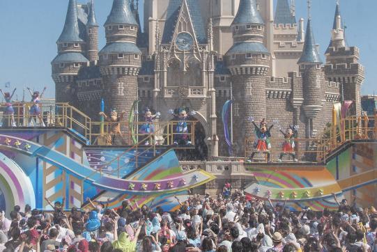 """"""" Sansui! Summer Beat"""" a t Tokyo Disneyland"""