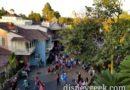 A bird's eye view of Adventureland at Disneyland