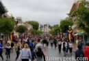Disneyland Main Street USA this cloudy afternoon