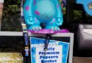Sully Popcorn Buckets are available for Pixar Fest