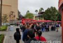 A long line for the Infinity Gauntlet Sipper in Hollywood Land