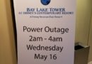 Bay Lake Tower Power Outage Tonight