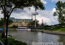 Disney Skyliner Work at Epcot International Gateway