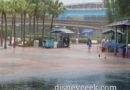 Just a little Rain at Epcot right now