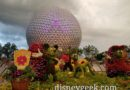 Epcot entrance topiaries for the International Flower & Garden Festival
