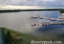 Bay Lake this morning at Walt Disney World