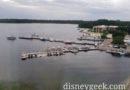 Bay Lake this morning, cloudy but not raining yet