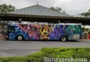 Avengers Infinity War bus at the Magic Kingdom – Heading to Polynesian & Grand Floridian
