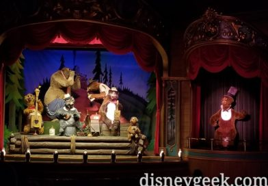 Country Bear Jamboree at the Magic Kingdom (several pictures)