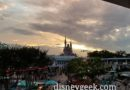 Cinderella Castle from the Peoplemover