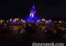 The crowd for Once Upon a Time is much more sparse